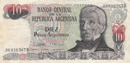 BANCONOTA ARGENTINA 10 VF (ZX1556 - Argentina