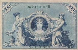 BANCONOTA 1908 GERMANIA 100 VF (ZX1557 - 100 Mark