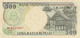 BANCONOTA INDONESIA 500 RUPIE VF (ZX1569 - Indonesia