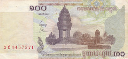 BANCONOTA CAMBOGIA 100 VF (ZX1574 - Cambodja