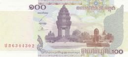 BANCONOTA CAMBOGIA 100 UNC (ZX1580 - Cambodja