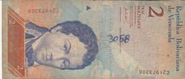 BANCONOTA  VENEZUELA 2 VF (ZX1591 - Venezuela