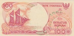BANCONOTA INDONESIA 100 UNC (ZX1595 - Indonesia