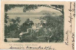 143007 PARAGUAY SAN BERNARDINO CHALET MARIA YEAR 1902 POSTAL POSTCARD - Paraguay
