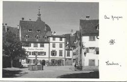 BREGENZ - GASTHOF STORCHEN - PHOTOGRAPHE KIRSCHNER - CIRCA 1950 - TRES BON ETAT - CARTE INEDITE - Bregenz