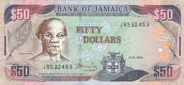 BANCONOTA 50 DOLLARI GIAMAICA UNC (ZX1625 - Jamaica