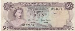 BANCONOTA BAHAMAS 50 CENT. VF (ZX1634 - Bahamas