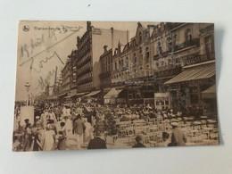 Carte Postale Ancienne (1933)  BLANKENBERGHE L'Heure Du Thé - Het Theeur - Blankenberge