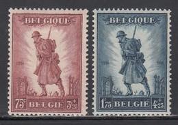 1932 Yvert Nº 351 / 352 MH, A La Glorie De L'ifanterie. - Ungebraucht