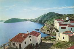Postal Cadaques , 1959, Casa Dali, Dali , Port LLigat , Catalonia , Mediterrâneo ,cala - Gerona
