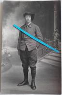 1932 Barcelonette Mont-dauphin 15 Eme Bataillon De Chasseurs Alpins BCA Poilu Ww1 Ww2 14-18 Carte Photo - Krieg, Militär