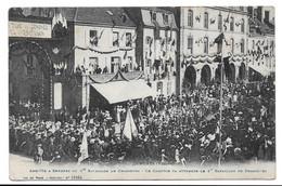88 - SENONES - Arrivée Du 1er Bataillon De Chasseurs - Le Cortège Va Attendre Le 1er Bataillon De Chasseurs - Senones