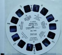 VIEW MASTER    6553    NIAGARA FALLS   NEW YORK CITY  U.S.A. - Stereoskope - Stereobetrachter