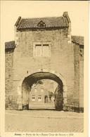 """CP De AMAY """" Porte De La Basse Cour De Rouvre 1650 """" - Amay"""