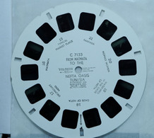 VIEW MASTER    7133    FROM  MATMATA  NEFTA OASIS   TUNISIA - Stereoskope - Stereobetrachter