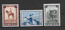 Belgie  N°  938/940  Xx Postfris  Cote 70 Euro - Ungebraucht