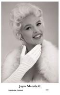 JAYNE MANSFIELD - Film Star Pin Up PHOTO POSTCARD - 2-45 Swiftsure Postcard - Cartoline