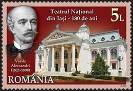 Romania 2020 / National Theatre Iasi / Set 2 Stamps - Nuevos