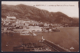 Monte Carlo, Port, Mailed 1925 - Monte-Carlo