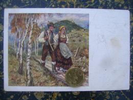 M.Gaspari--Po Kosnji-Apres La Fenaison-cca 1930  (4300) - Slowenien