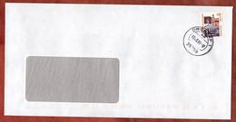 Brief, Steinerne Bruecke Regensburg, Driedorf 2001 (97515) - Storia Postale