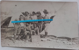 1920 1930 Camp Des Garrigues Infanterie Alpine Chasseurs Alpins BCA Poilu Ww1 Ww2 14-18 Carte Photo - Krieg, Militär