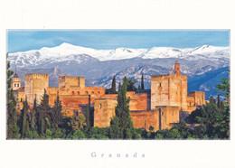 Espagne Carte Postale Grenada L'Alhambra - Granada