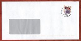 Brief, Steinerne Bruecke Regensburg, Schoeneck 2002 (97517) - Storia Postale