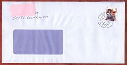 Brief, Steinerne Bruecke Regensburg, Leverkusen 2002 (97518) - Storia Postale