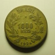Brazil 1000 Reis 1924 - Brazil
