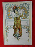 CPA Illustrateur Karl Jozsa - Art Nouveau - Andere Zeichner