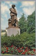 NL.- AMSTERDAM. REMBRANDT'S PLEIN. STANDBEELD VAN REMBRANDT. - Monumenti