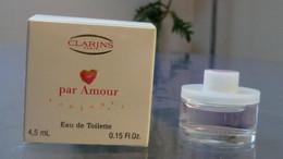 PAR AMOUR TOUJOURS - EDT 4,5 ML De CLARINS - Modern Miniatures (from 1961)