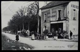 SUCY-EN-BRIE  Cabaret Du Feu  Val De Marne [94] Hôtel Restaurant Attelage Voiture - Sucy En Brie
