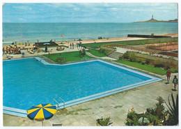 LA MANGA DEL MAR MENOR (Espagne) - Piscina Y Playa Del Hotel Entremares - Piscine, Plage -Animée -1975 -Scan Recto-verso - Murcia