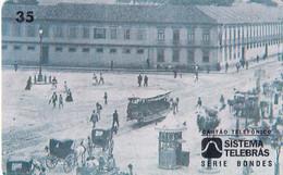 BRAZIL(Sistema Telebras) - Tram, Arquivo Geral Da Cidade Do Rio De Janeiro Acervo/Quartel General Do Exercito,08/96,used - Treni