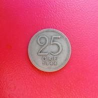 25 Öre Münze Aus Schweden Von 1944 (sehr Schön) II - Suecia
