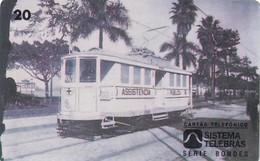 BRAZIL(Sistema Telebras) - Tram, Arquivo Geral Da Cidade Do Rio De Janeiro Acervo/Bonde Eletrico, 09/96, Used - Treni