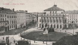 Liège  Belgique (2321) Place Du Théatre - Liege