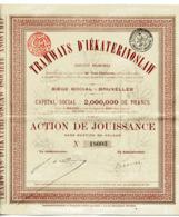 TRAMWAYS D'IÉKATERINOSLAW; Action De Jouissance - Russia