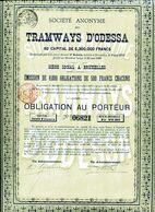TRAMWAYS D'ODESSA; Obligation - Russia