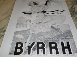 ANCIENNE PUBLICITE ETERNEL PRINTEMPS   BYRRH  1932 - Alcohols