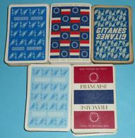 Rare Lot De 5 Jeux De 32 Cartes Thème Tabac Cigarettes SEITA Régie Tabacs, Gitanes Gauloises Longues - 32 Cartes