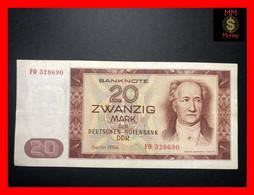 GERMANY Democratic Republic DDR 20 Mark 1964  P.  24  VF   [MM-Money] - 20 Mark