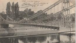 Liège  Belgique (2333) Le Pont Suspendu - Liege