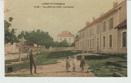 CPA VILLARD-DE-LANS (38) LES ECOLES - ANIMEE - Villard-de-Lans