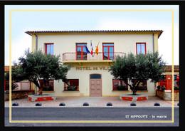 66    ST  HIPPOLYTE  ....  Hotel  De  Ville - Autres Communes