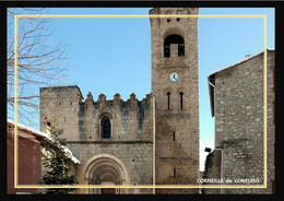66    CORNEILLA  De  CONFLENT   ..... L'église - Autres Communes