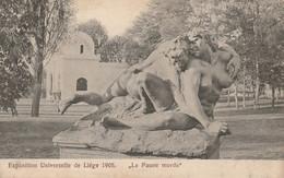 Liège  Belgique (2338)  Expo 1905,Le  Faune Mordu - Liege