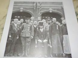 AFFICHE PHOTO LE ORINCE POU YI EX EMPEREUR DE CHINE 1932 - Unclassified